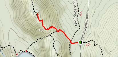North Bubble Trail Map