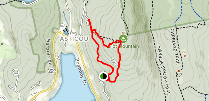 Eliot Mountain Trail Map