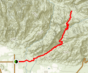 Bear Canyon Trail Twenty-Nine Map