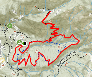 Cascade and Portland Loop Trail Map