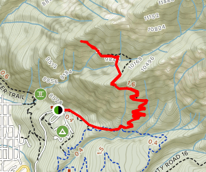 Chief Ouray Mine Trail Map
