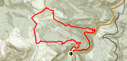 Pass Creek and Coal Creek Loop Trail Map