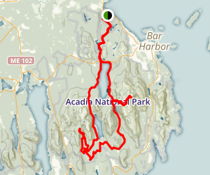 Acadia National Park Cruise Map