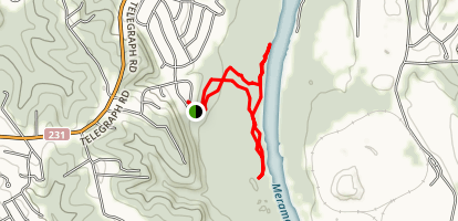 Teszars Woods Conservation Area Trail Map