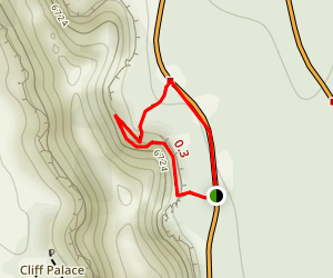 Cliff Palace Loop Trail Map