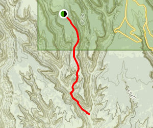 Rock Springs Trail [CLOSED] Map