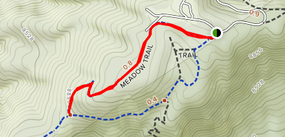 Meadow Trail #5A Map