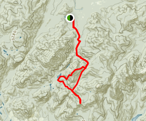Mount Redfield Trail Map