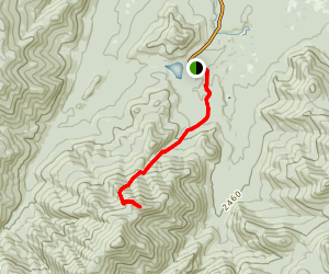 Wright Peak Trail Map