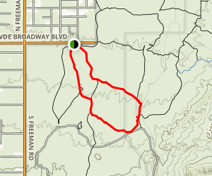 Mica View Loop Trail Map