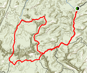 Devils Pocket Loop Map