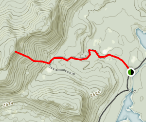 Wakely Mountain Trail [CLOSED] Map