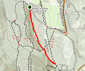 Stratheden Trail Map