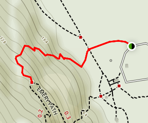 Homans Path Trail Map