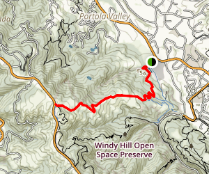 Spring Ridge Trail Map
