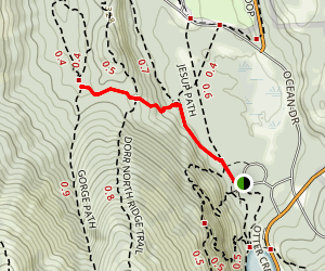 Hemlock Trail Map