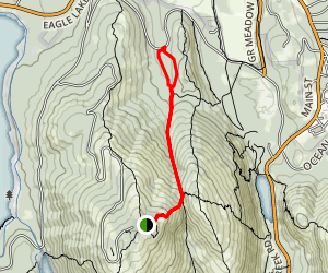 Gorge Path Trail Map