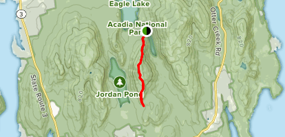Pemetic North and South Ridge Trails Map