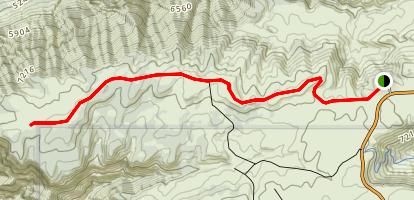Ruple Point Trail Map