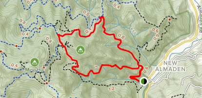 English Camp Loop Map
