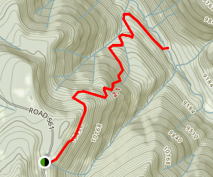 Gold Run Trail Map