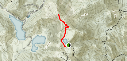 Almagre Mountain Trail Map