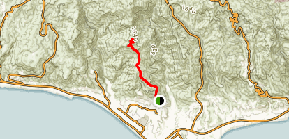 Zuma Ridge Trail Map