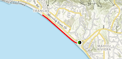 Zuma Beach Walk Map