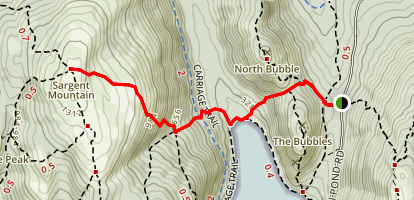 Sargent East Cliffs Trail  Map