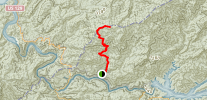 Wolf Ridge Trail Map