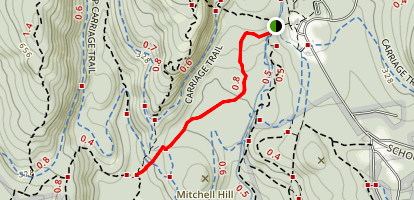 Asticou Trail Map