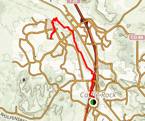 East Plum Creek Trail Map