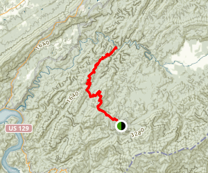 Hannah Mountain Trail Map