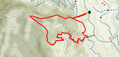 Well Gulch Natural Trail Map