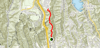 Getty View Trail Map