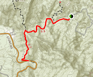 Red Rock Canyon Trail Map