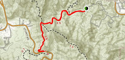 Red Rock Road Map