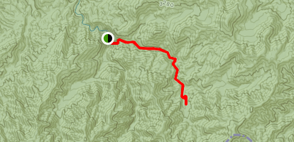Middle Prong Trail Map