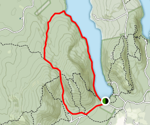 Long Pond And Great Notch Trails Map