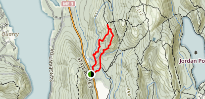 Parkman Mountain Trail Map