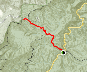 Schoolhouse Gap Trail Map