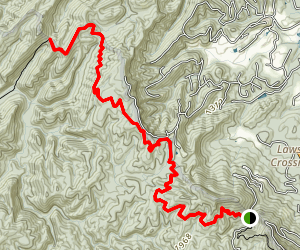 Ace Gap Trail Map