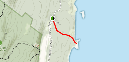 Horseman Point Trail Map