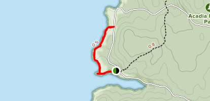 Eben's Head Trail Map