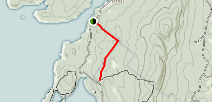 Black Dina Trail Map