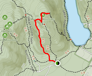Razorback Trail Map