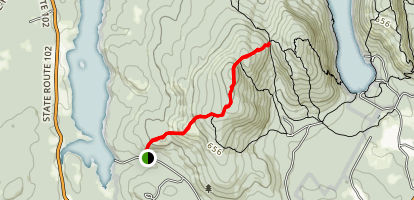 Western Mountain Ridge Trail Map