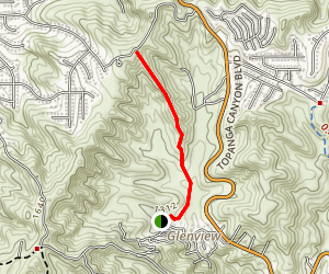 Koontz Trail Map