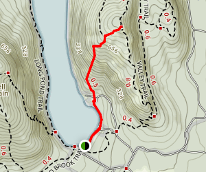 Beech Mountain West Ridge Trail Map