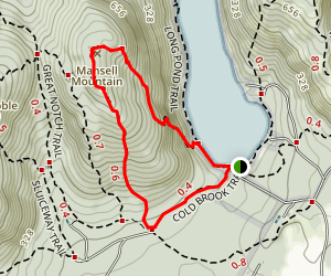 Mansell Mountain Loop Trail Map